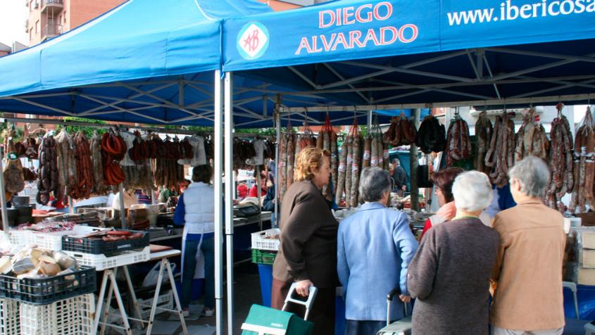 Jamones de Extremadura Ibéricos Diego Alvarado Cáceres Valdefuentes
